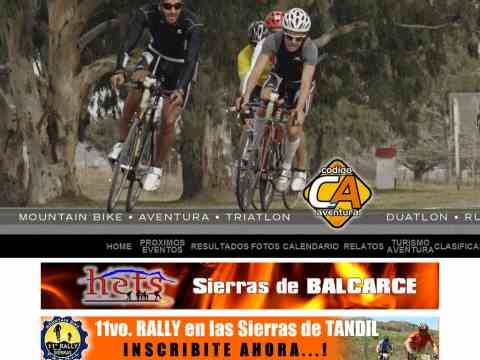 Carreras de aventura, duatlon, triatlon y combinadas en la provincia de Buenos Aires. Mountain bike, cross, rural bike, rally bike, aventuras combinadas, multidisciplinas, atletismo, maraton. Inscripciones. Clasificaciones. Fotos. Notas y Noticias. A Carreras de aventura, duatlon, triatlon y combinadas en la provincia de Buenos Aires. Mountain bike, cross, rural bike, rally bike, aventuras combinadas, multidisciplinas, atletismo, maraton. Inscripciones. Clasificaciones. Fotos. Notas y Noticias. A
